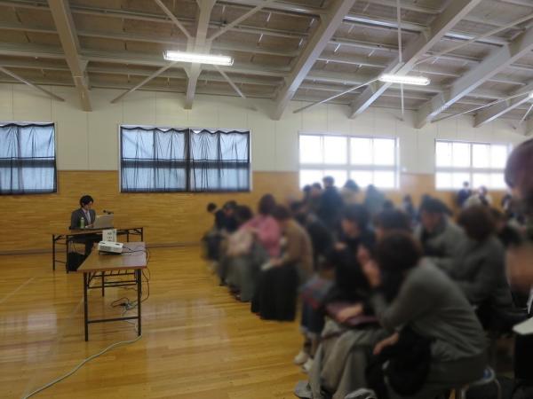 高等養護学校における講演事例